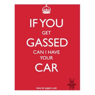 Si usted consigue proveído de gas postales