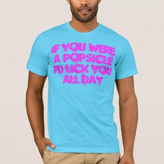 Si usted era una camiseta del Popsicle