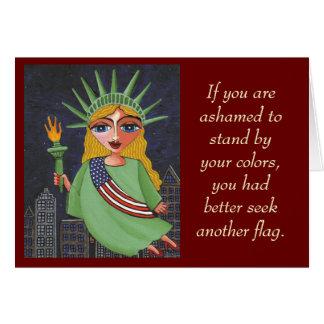 Si usted está avergonzado hacer una pausa sus tarjeta de felicitación