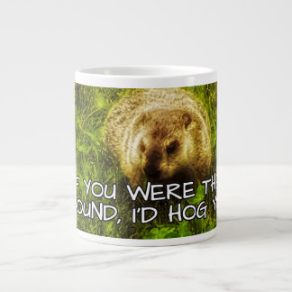 ¡Si usted fuera la tierra, hog le! taza