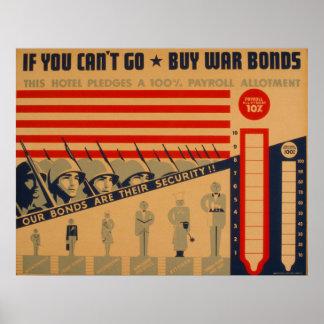 Si usted linado va los posters 1942 de WPA de los