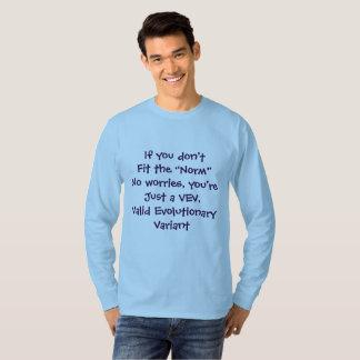 Si usted no cabe la camisa de la norma