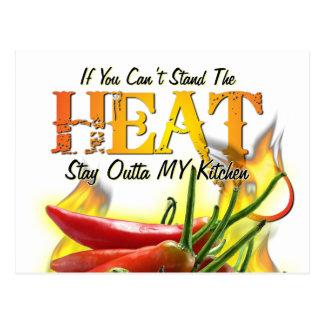 Si usted no puede colocar el calor, permanezca postal