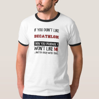 Si usted no tiene gusto de Decathlon fresco Camisetas