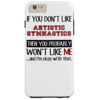 Si usted no tiene gusto de la gimnasia artística funda resistente iPhone 6 plus