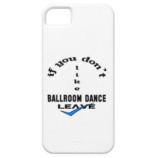 Si usted no tiene gusto de licencia de la danza de iPhone 5 protector