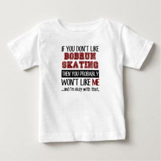 Si usted no tiene gusto de patinaje de Bobrun Camiseta De Bebé