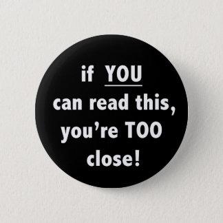 Si usted puede leer esto usted es botón demasiado