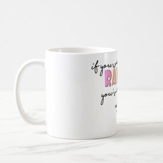 Si usted quiere el arco iris taza de café