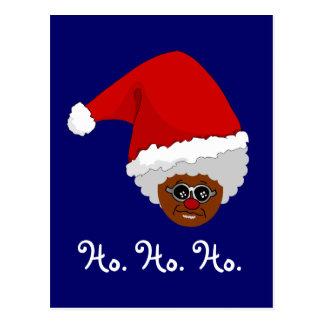 Sí, Virginia, hay un Papá Noel negro Postal