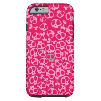 Sianelliot rosado de Phonecase del cráneo Funda Para iPhone 6 Tough