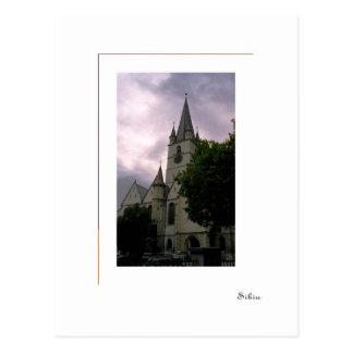 Sibiu, Rumania - iglesia evangélica Postales