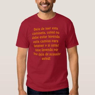 SID español Camiseta