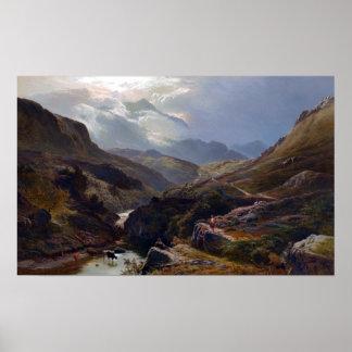 Sidney Richard Percy en el camino a la torrecilla Póster