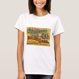 Sidra hervida jalea de Brattleboro de Vermont Camiseta
