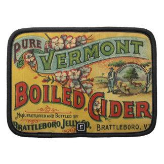 Sidra hervida jalea de Brattleboro de Vermont Planificadores