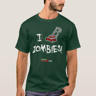 Siego abajo la camisa de los zombis