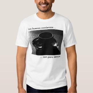 Siempre de para del hijo de los comienzos de los camiseta
