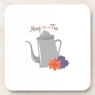 Siempre diente para el té posavasos de bebidas