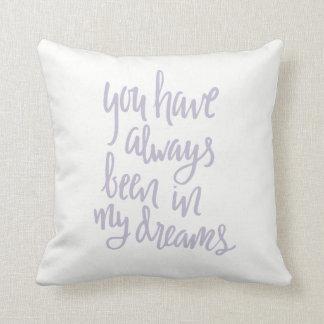 Siempre en mi almohada de los sueños