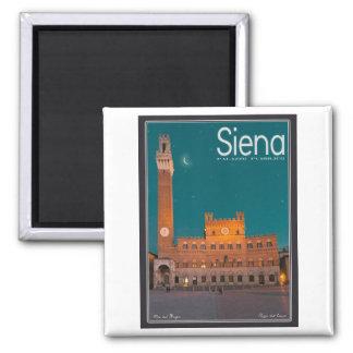 Siena - noche de Palazzo Pubblico Imán