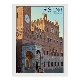Siena - Palazzo Pubblico Postal