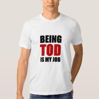 Siendo Tod Camisetas