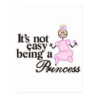 Siendo una princesa postal