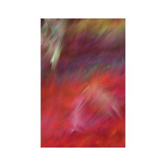 Sienta el arte moderno de Abstact del calor