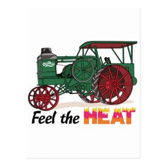 Sienta el calor postal