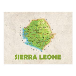 Sierra Leone del ♥ de las POSTALES del MAPA