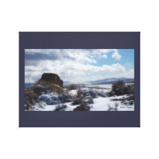 Sierras Nevado Impresión En Lienzo