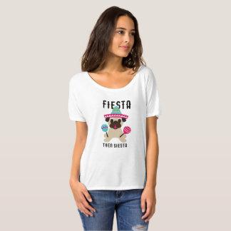 Siesta Cinco De Mayo de la fiesta del barro Camiseta