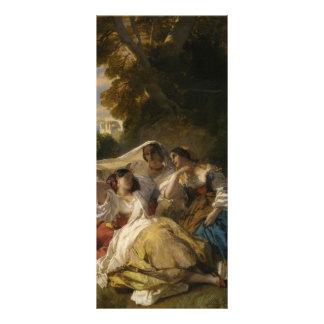 Siesta del La de Francisco Xaver Winterhalter- Lonas Personalizadas