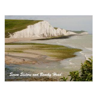 Siete hermanas y postal principal con playas