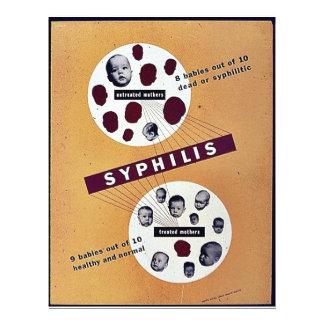 Sífilis Flyer Personalizado