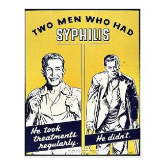 Sífilis Folleto 21,6 X 28 Cm