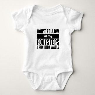 Siga en mis pasos body para bebé
