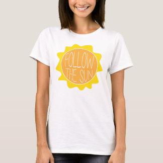 Siga la camiseta de The Sun, camiseta de la