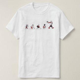 Siga la camiseta del varón del líder