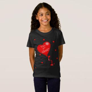 Siga su camiseta de los chicas del corazón