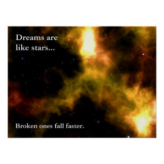 Siga sus sueños a las estrellas (l) póster