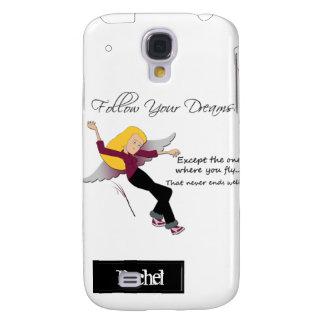 Siga sus sueños iPhone3G Funda Para Galaxy S4