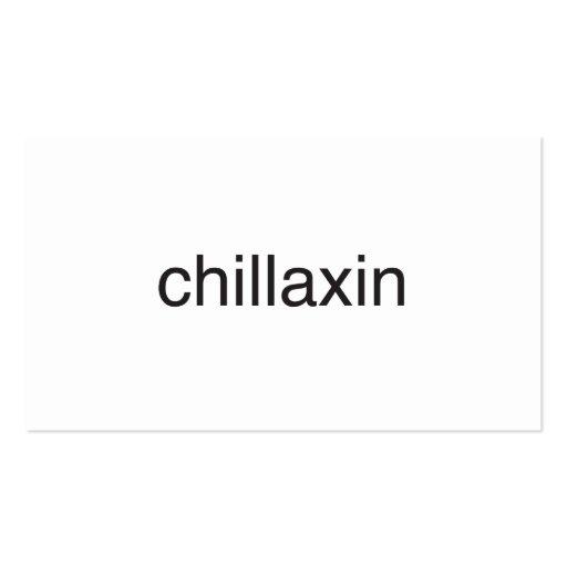 significa la refrigeración y relaxing.ai plantilla de tarjeta de visita