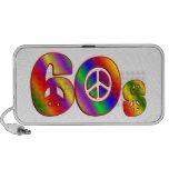signo de la paz 60s laptop altavoz