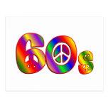 signo de la paz 60s postales