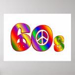 signo de la paz 60s poster