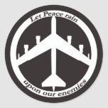 Signo de la paz B-52 Etiquetas