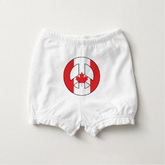 Signo de la paz canadiense cubrepañal