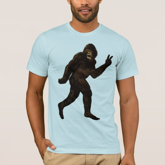 Signo de la paz de Bigfoot Camiseta